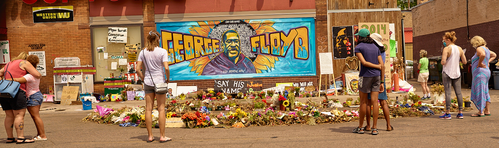 Anger about the death of  George Floyd in Minneapolis,  Minnesota reaches around  the World.